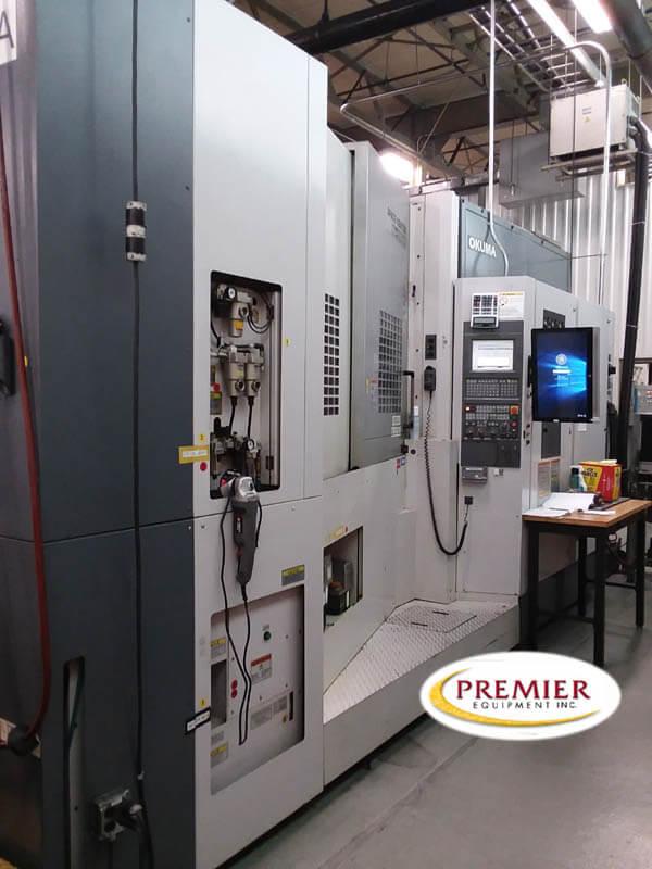 Okuma MA600HB Used CNC HMC