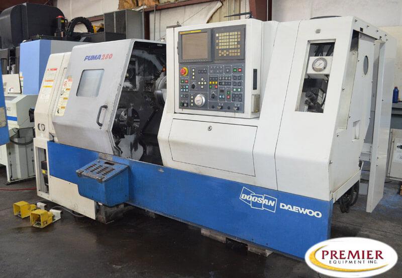 Doosan Puma 280 CNC Lathe