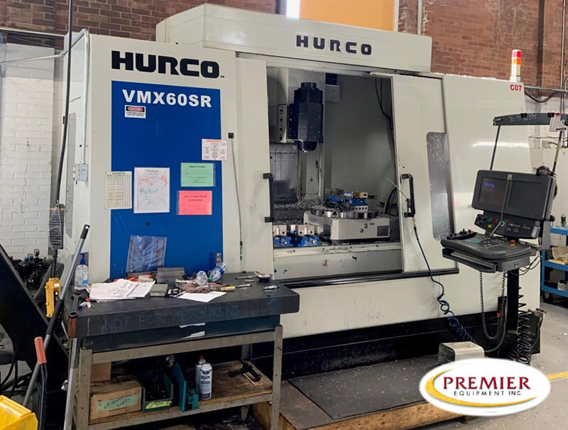 Hurco VMX60SR 5-Axis Mill