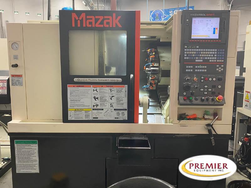 Mazak Smart 100S Used CNC Lathe