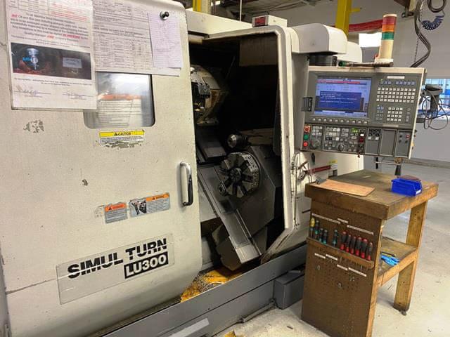 Okuma LU300-600 4-Axis CNC Lathe