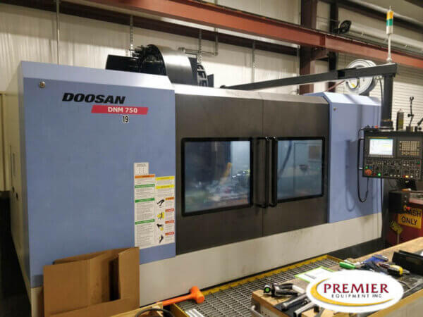 Doosan DNM-750 Used CNC Mill