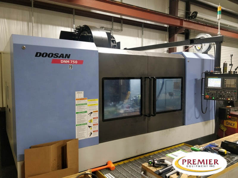 Doosan DNM-750 Used CNC Mill