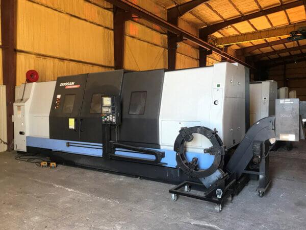 Doosan Puma 800LB Used CNC Lathe
