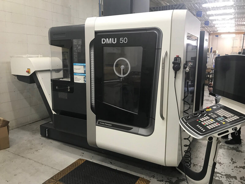 DMG Mori DMU50 5-Axis CNC Mill