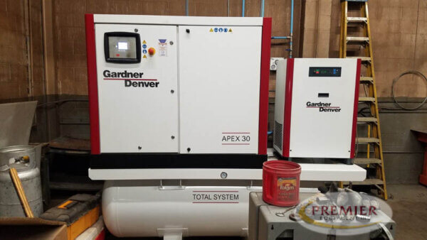 Gardner Denver Apex 30 Rotary Screw Air Compressor