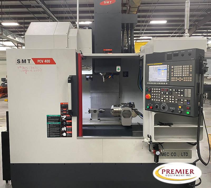 SMEC PCV400 Used CNC Mill