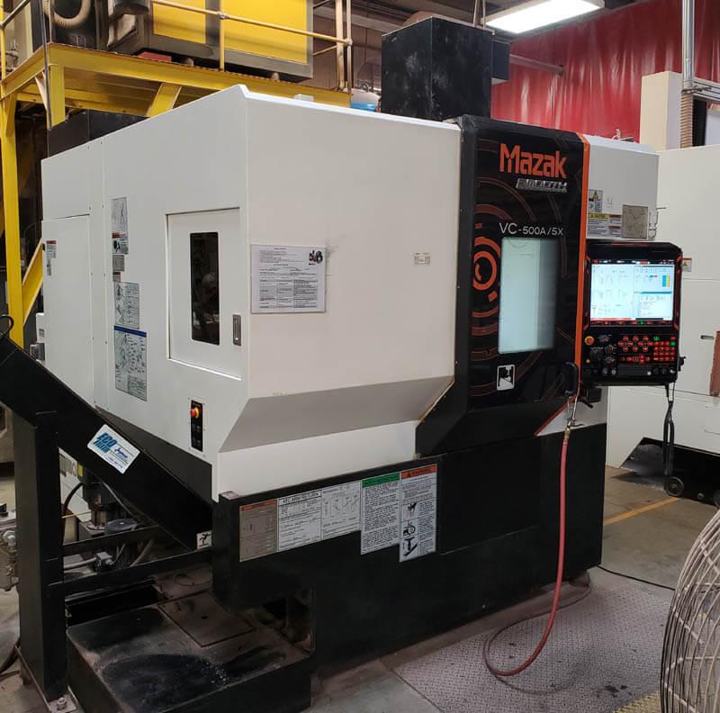 Mazak VC500A5X 5-Axis Mill
