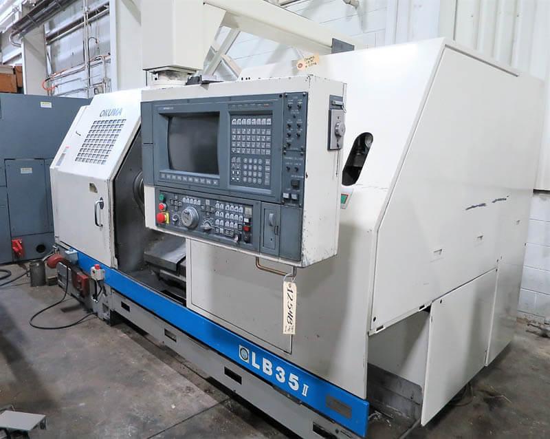 Okuma LB-35II CNC Lathe For sale