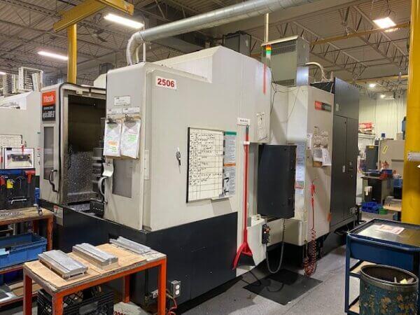 Mazak HCN5000-II Used HMC
