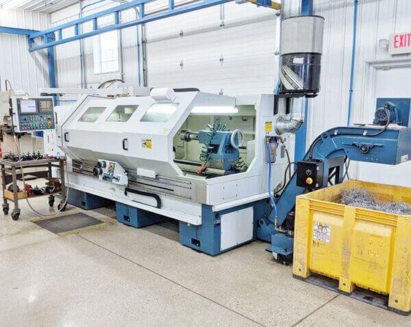 Romi M27 Flat Bed CNC Lathe