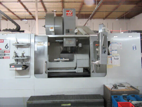 Haas VF6/50TR 5-Axis Mill