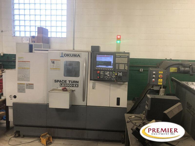 Okuma LB3000EX CNC Lathe for sale
