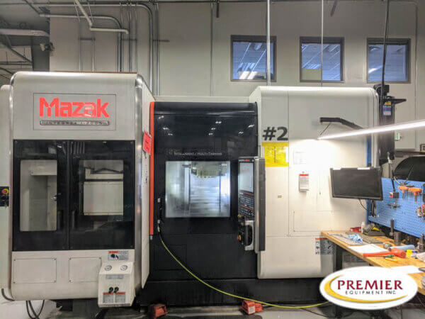 Mazak Integrex i-200S Multi-Axis CNC Lathe