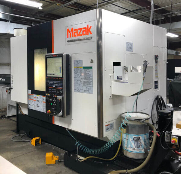 Mazak Hyper Quadrex 100MSY Multi-Axis CNC Lathe