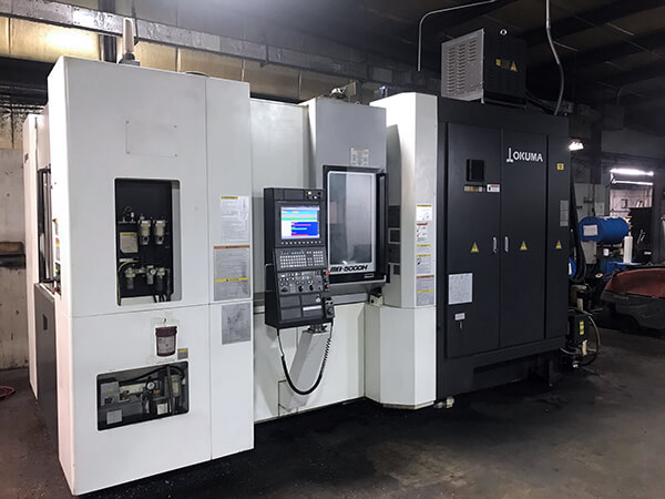 OKUMA MB-5000H Used CNC HMC for sale