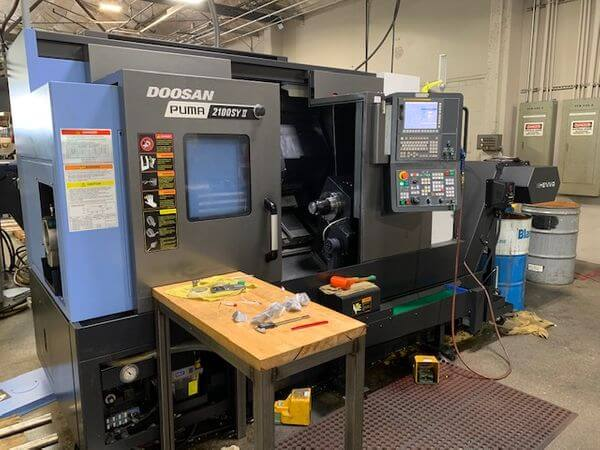 DOOSAN PUMA 2100SY-II CNC Lathe for sale