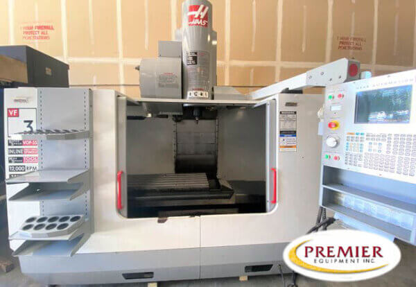 HAAS VF3SS Used CNC Mill