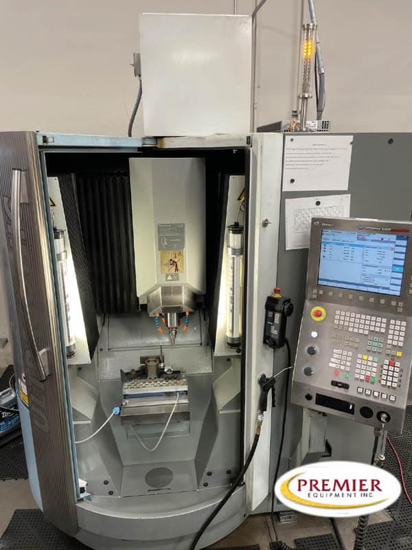 DMG US20 Ultrasonic 3 axis Linear