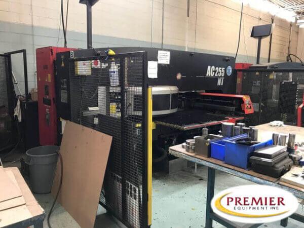 Amada AC 255NT CNC Turret Punch Press