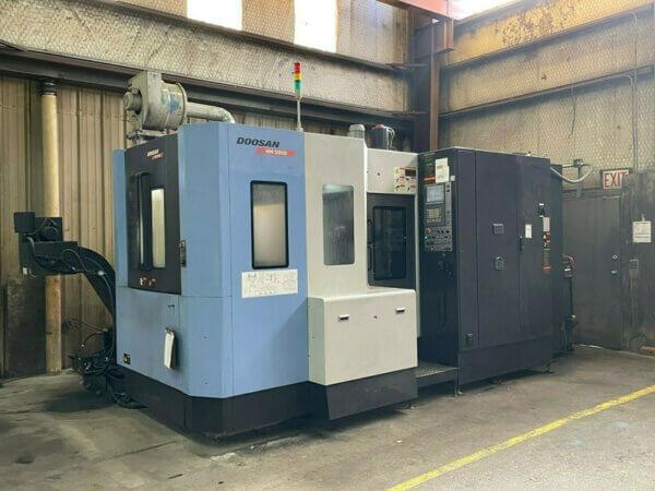 Doosan HM5000 Used CNC HMC