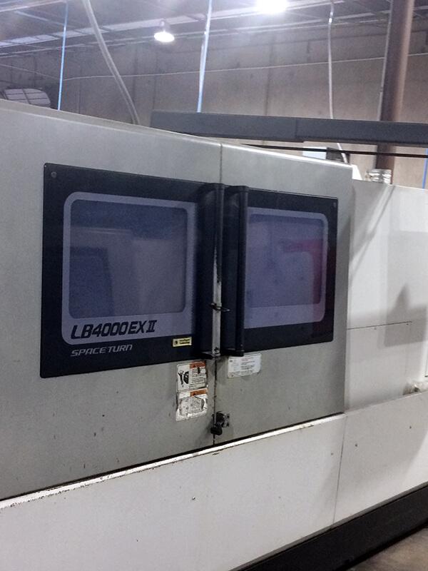 Okuma LB4000EX CNC Lathe