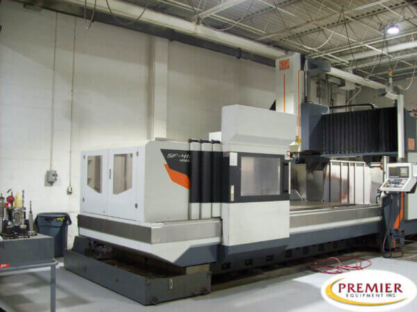 Vision Wide SF4116 CNC Bridgemill