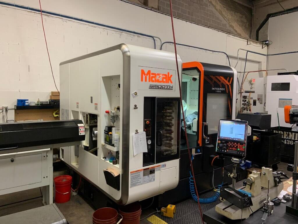 Mazak Integrex i100S Multi-Axis Lathe