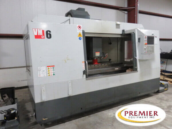 Haas VM6 Used CNC Mill