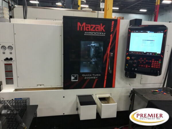 Mazak Quick Turn 200MSY Multi-Axis CNC Lathe