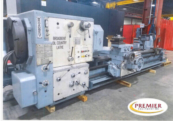 """Broadbent """" Oil Country"""" Removable Gap Type Engine Lathe"""