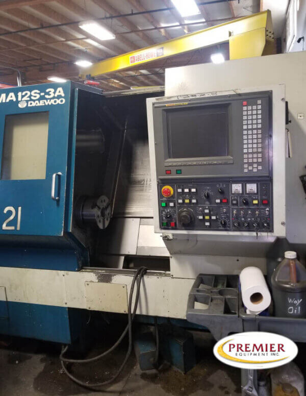 Daewoo Puma 12S-3A with Milling