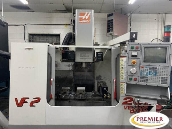 Haas VF2 CNC Mill with Rotary Table