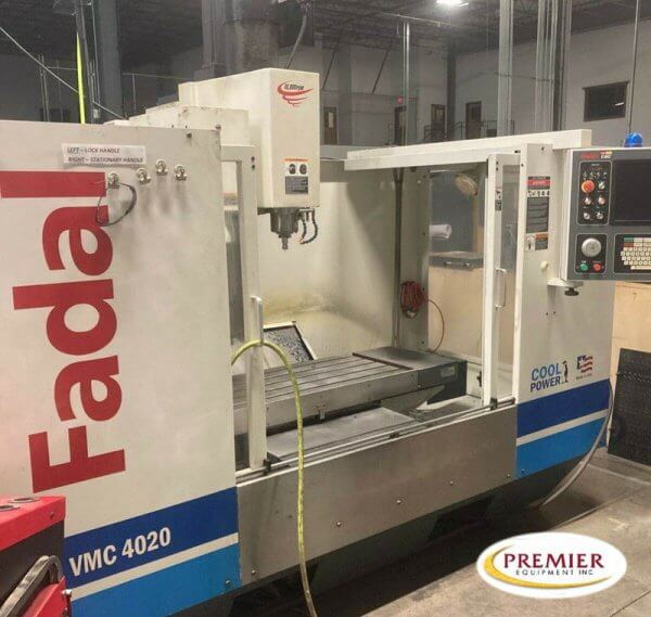 Fadal VMC4020HT CNC Mill for sale