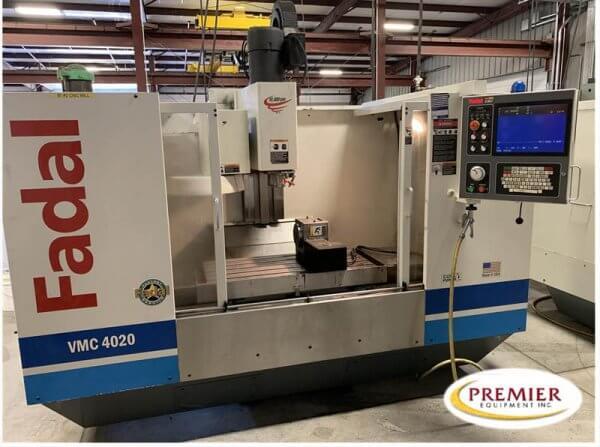 Fadal VMC4020HT CNC mill