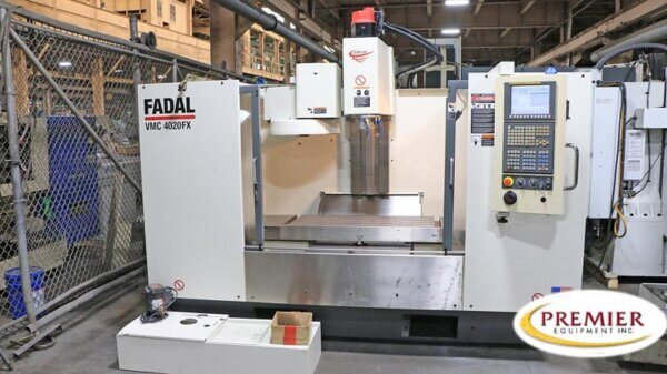 Fadal VMC4020FX Used CNC Mill