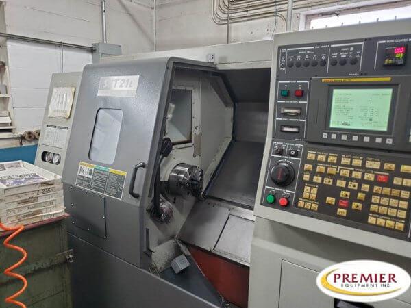 Hyundai-Kia SKT21L CNC Lathe