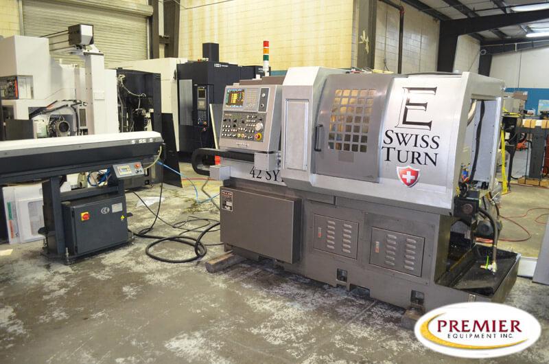 Eurotech ZEIT SL42SYB (aka Po Ly Gim Diamond 42CSL) CNC Swiss Type CNC Lathe