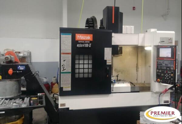 Mazak VCN410B-II Used CNC Mill