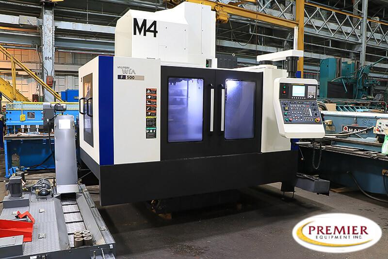 Hyundai-Wia F500 CNC Mill