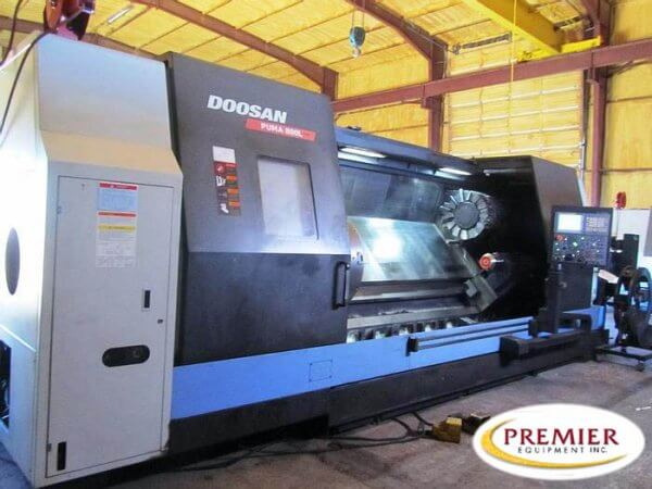 Doosan Puma 800LB CNC Lathe for sale