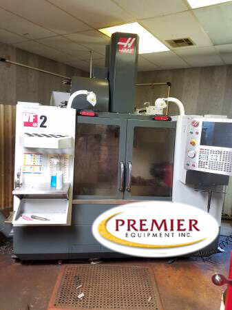 Haas VF-2 with Rotary Table