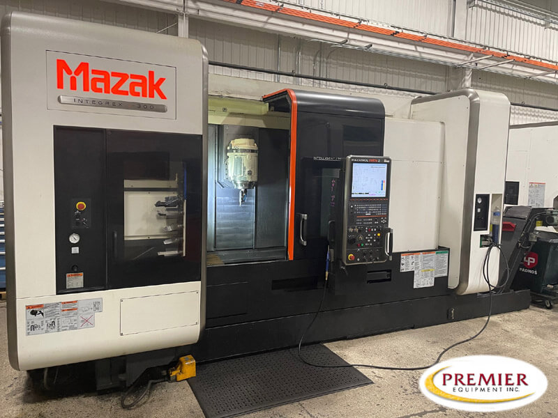 Mazak Integrex i300 Multi-Axis Lathe