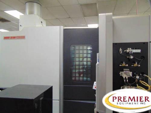 DMG MORI NHX-5000 CNC HMC