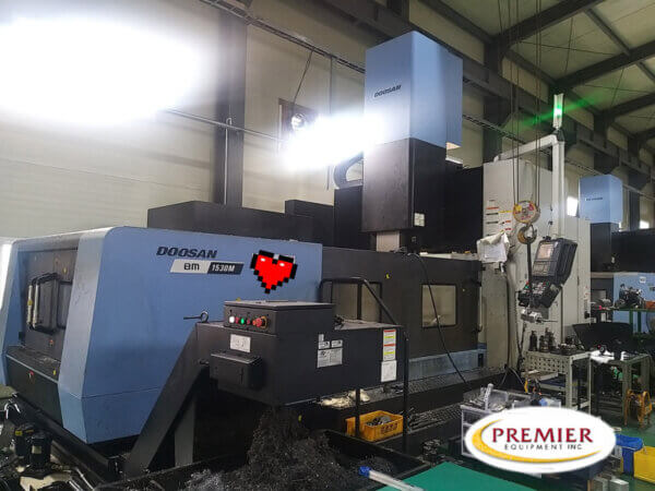 Doosan BM1530M CNC Double Columns Machining Center