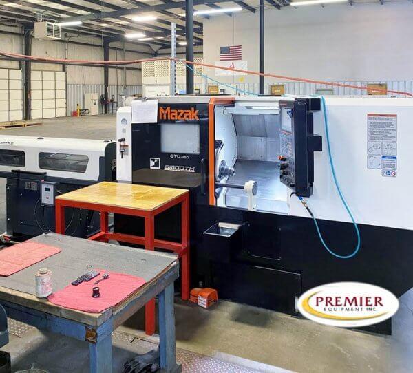 Mazak QTU250 CNC Lathe