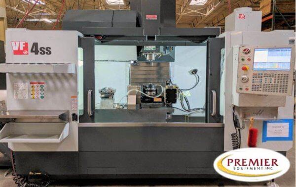 Haas VF4SS 5-Axis CNC Mill