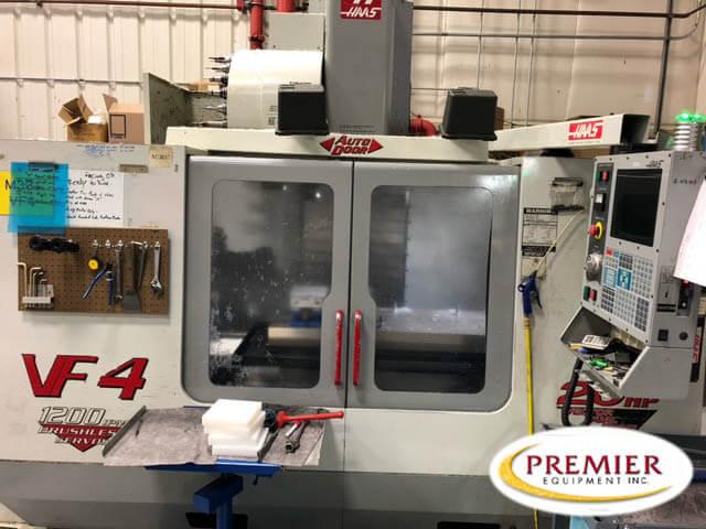 Haas VF4D CNC Mill
