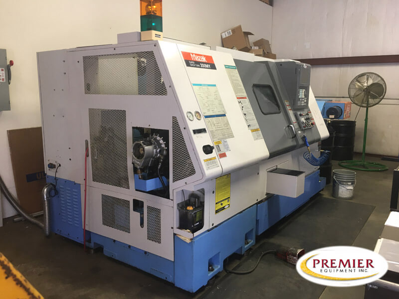 Mazak SQT-200MY CNC Turning Center