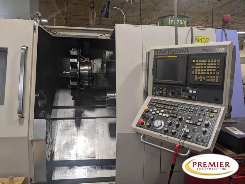 Takisawa TM-200 Multi-Axis CNC Turning Center